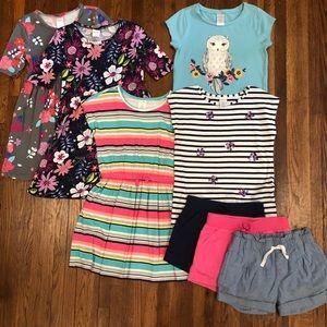 Bundle of Gymboree size 6 girls summer clothes